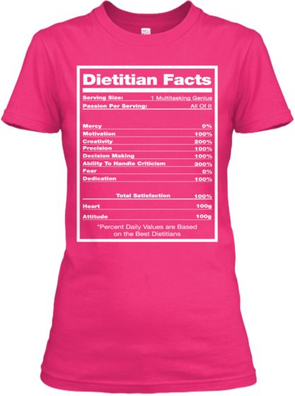 Dietitian Facts Pastry Chef Chef Quotes Chef Shirts
