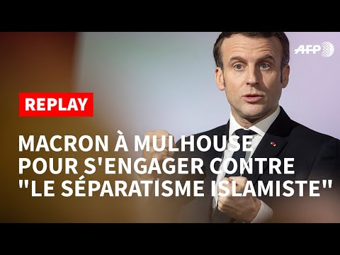 Discours de Macron à Mulhouse Vive la République, et