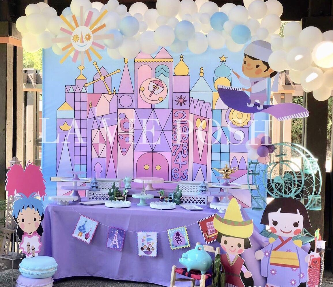 It S A Small World 1st Birthday Party Kids Birthday Party Planner Birthday Party Planner 1st Birthday Parties