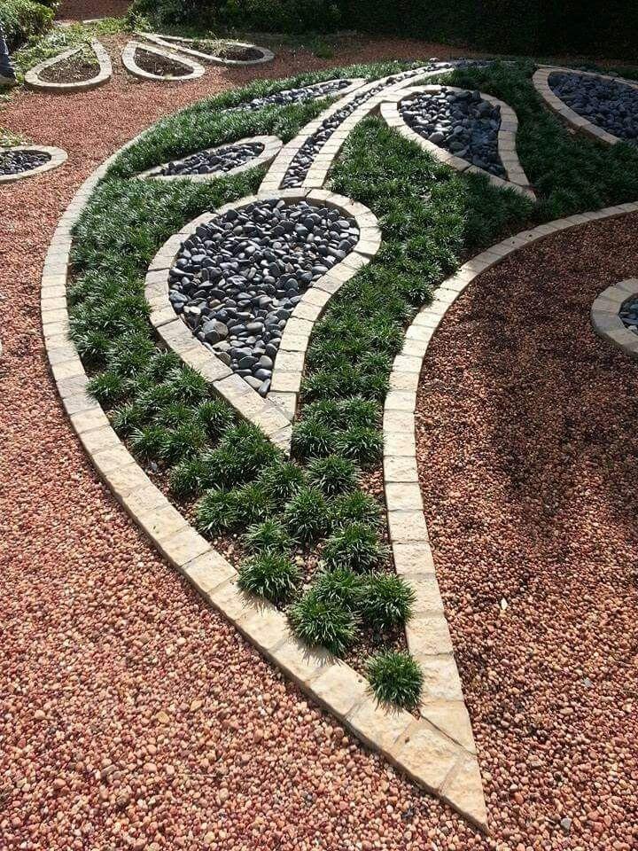 Mondo grass cobblestone border stone chips garden ideas mondo grass cobblestone border stone chips workwithnaturefo