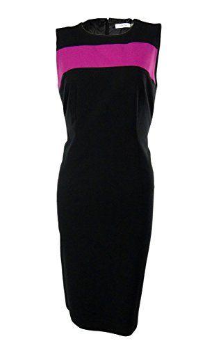 $89.99 (was $129.00) Black/Zinnia Calvin Klein VIP BOUTIQUE Dress Offer Date 04 14 - http://modeame.com/brands/calvin-klein/89-99-was-129-00-blackzinnia-calvin-klein-vip-boutique-dress-offer-date-04-14-12400