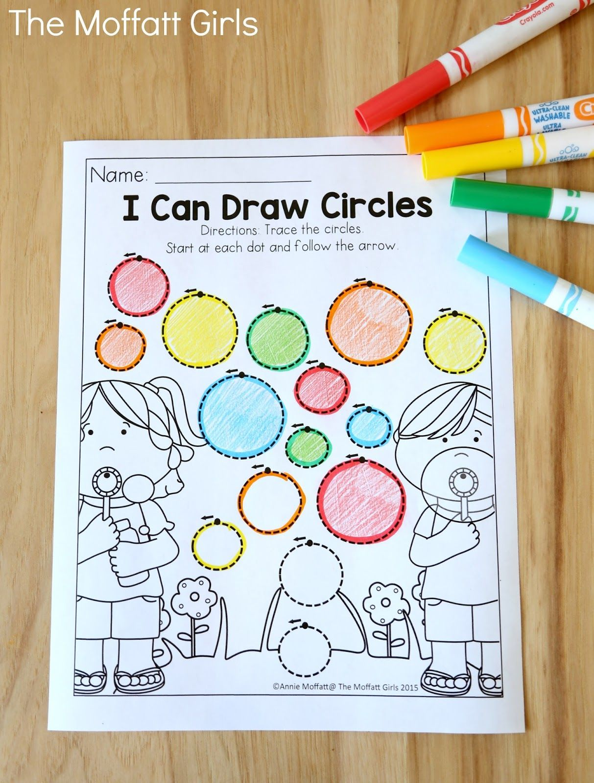 count and match with apples teaching number sense in preschool
