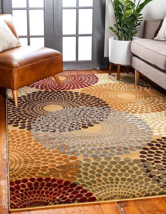 Beige Coffee Shop Area Rug Rugs, Colorful rugs, Large rugs