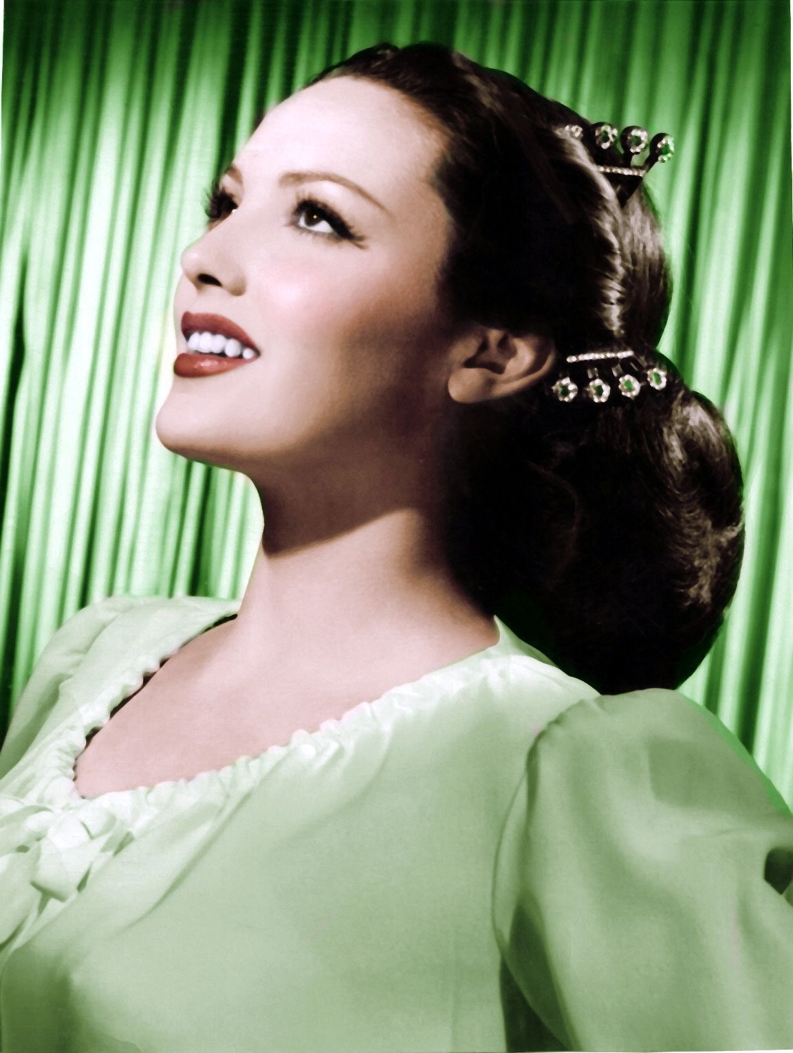 Linda Darnell (1923 1965) was an American film actress