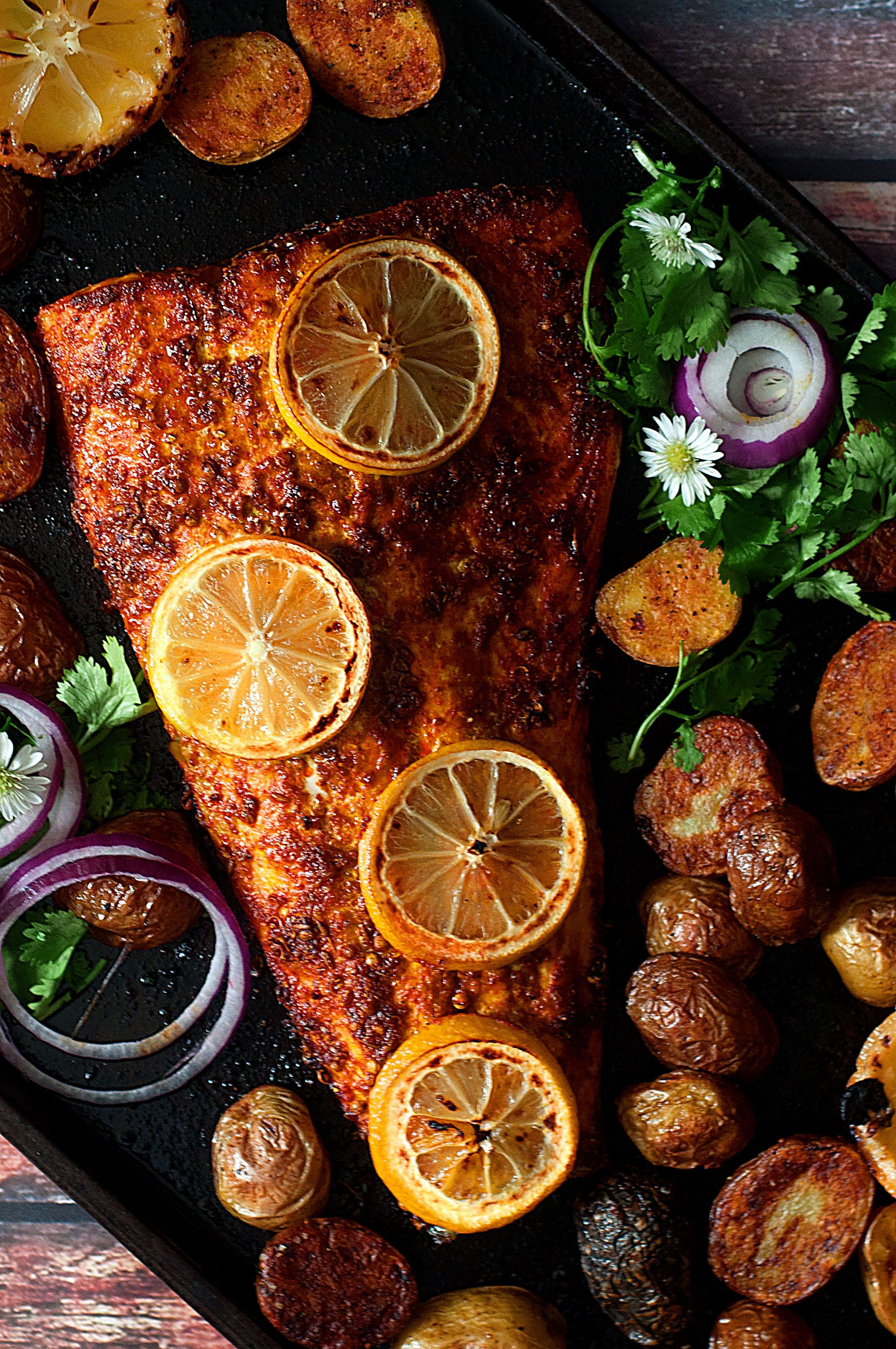 Tandoori Salmon #indianfood