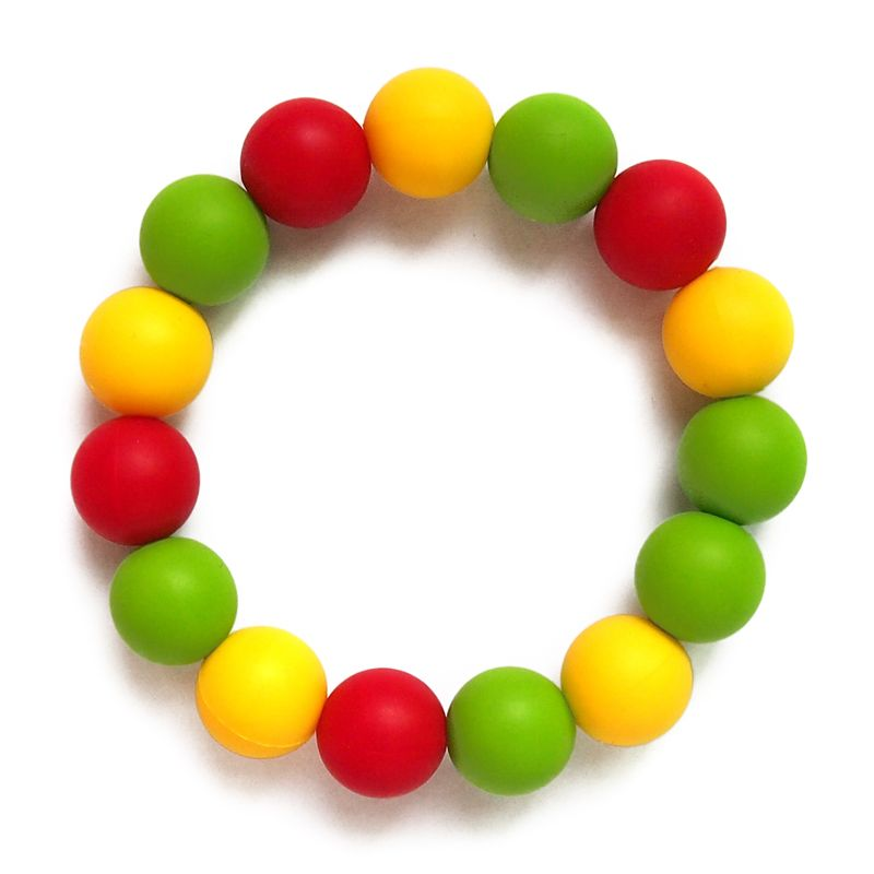 Silicone Teething Bracelets For Mommy Food Grade Is Your Best Choice