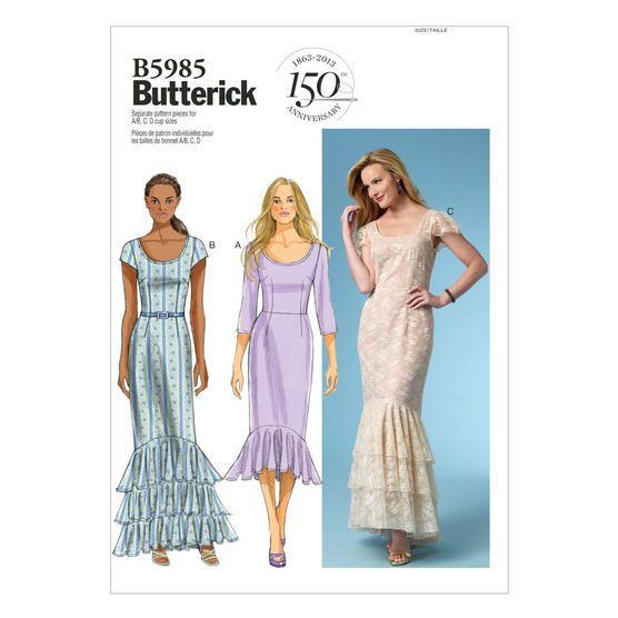 Mccall Pattern B5985 14-16-18-2-Butterick Pattern | sewing interest ...