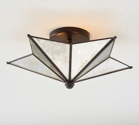 Lighting Tips For Every Room: Moravian Star Flushmount