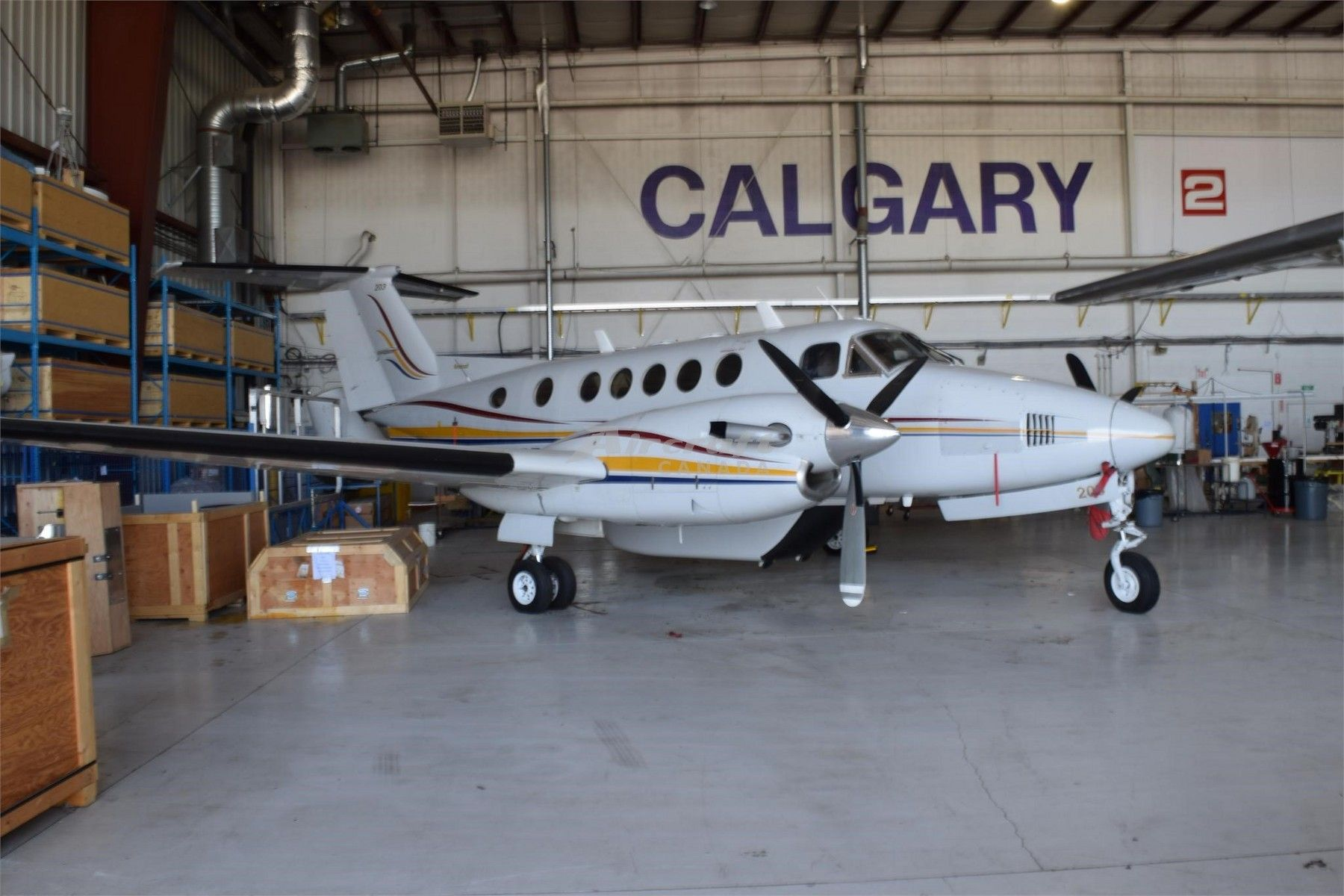 1978 Beechcraft King Air 200 for sale in AB Canada => www