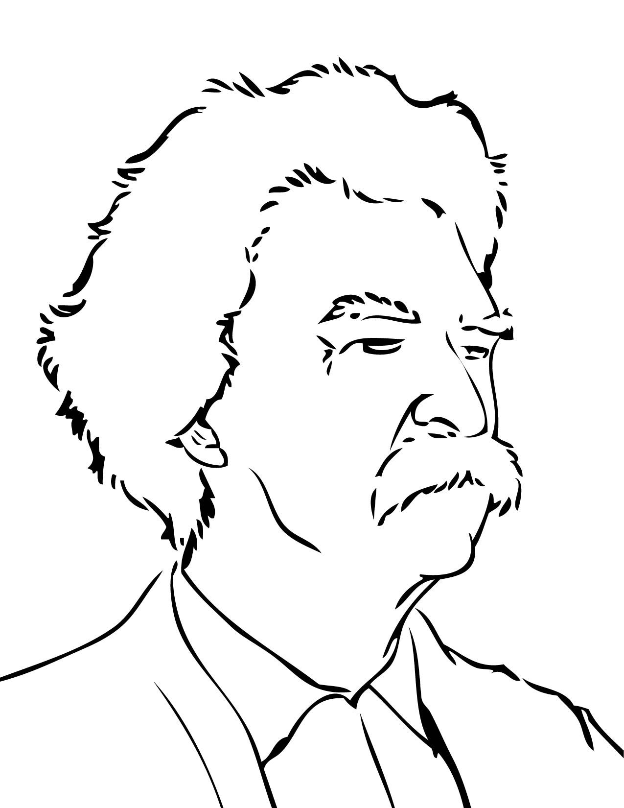 Mark Twain Coloring Sheets Yahoo Image Search Results Illyustracii