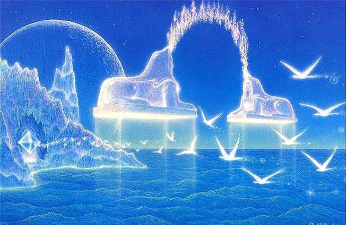 Галерея 'Надземное'. Гилберт Уильямс: НОВЫЙ МИР   Духовное ...