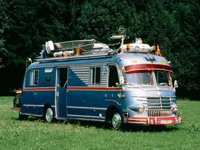 Mercedes Bus Leave Nothing Home Ha Motorhomes