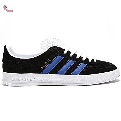 Adidas Gazelle Indoor Black Blue Mens Trainers Size 42 EU ...