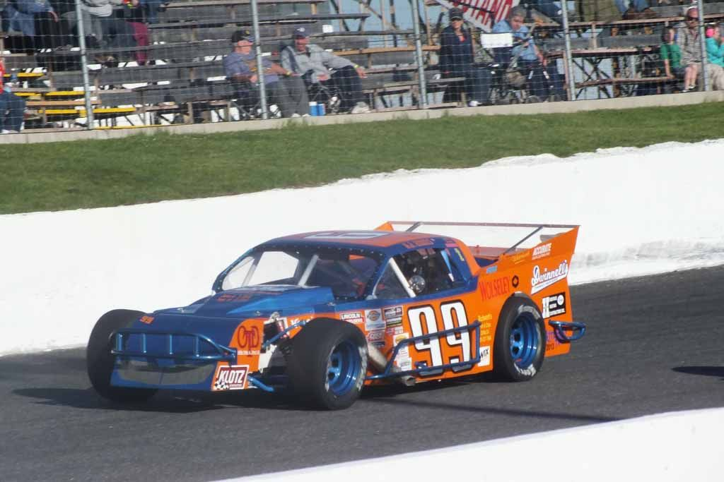 A J Emms Finishes 10th In Oscaar Modified Debut In His Hoosier Oscaar Modified Racing Open Wheel Racing Car