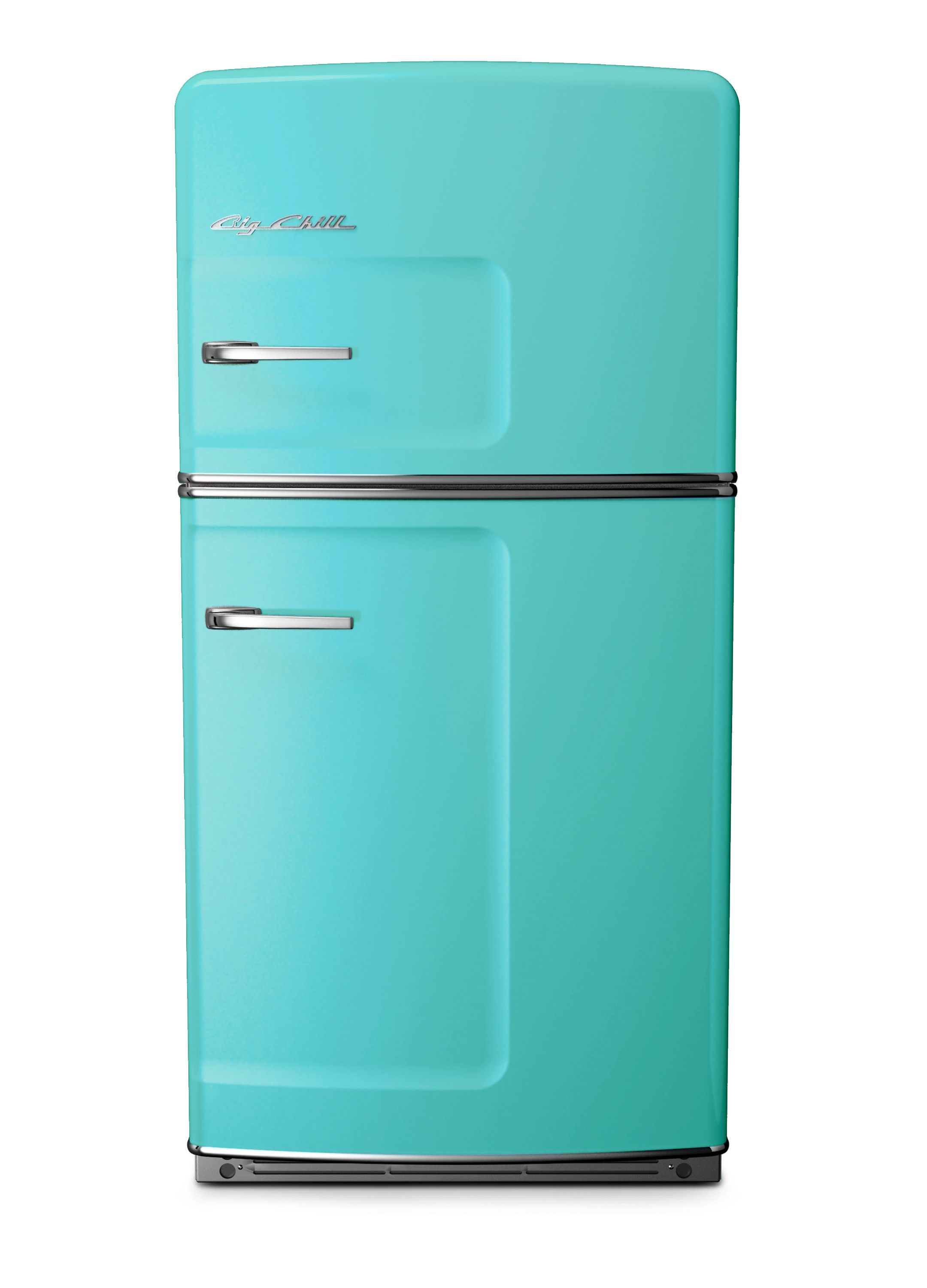 Turquoise Retro Fridge | What a Chill Color: Turquoise | Pinterest ...