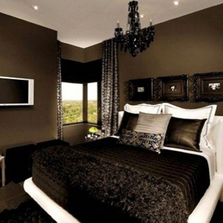 Home Design Ideas Classy: 20+ Classy Black Bedroom Design Ideas For Amazing Home