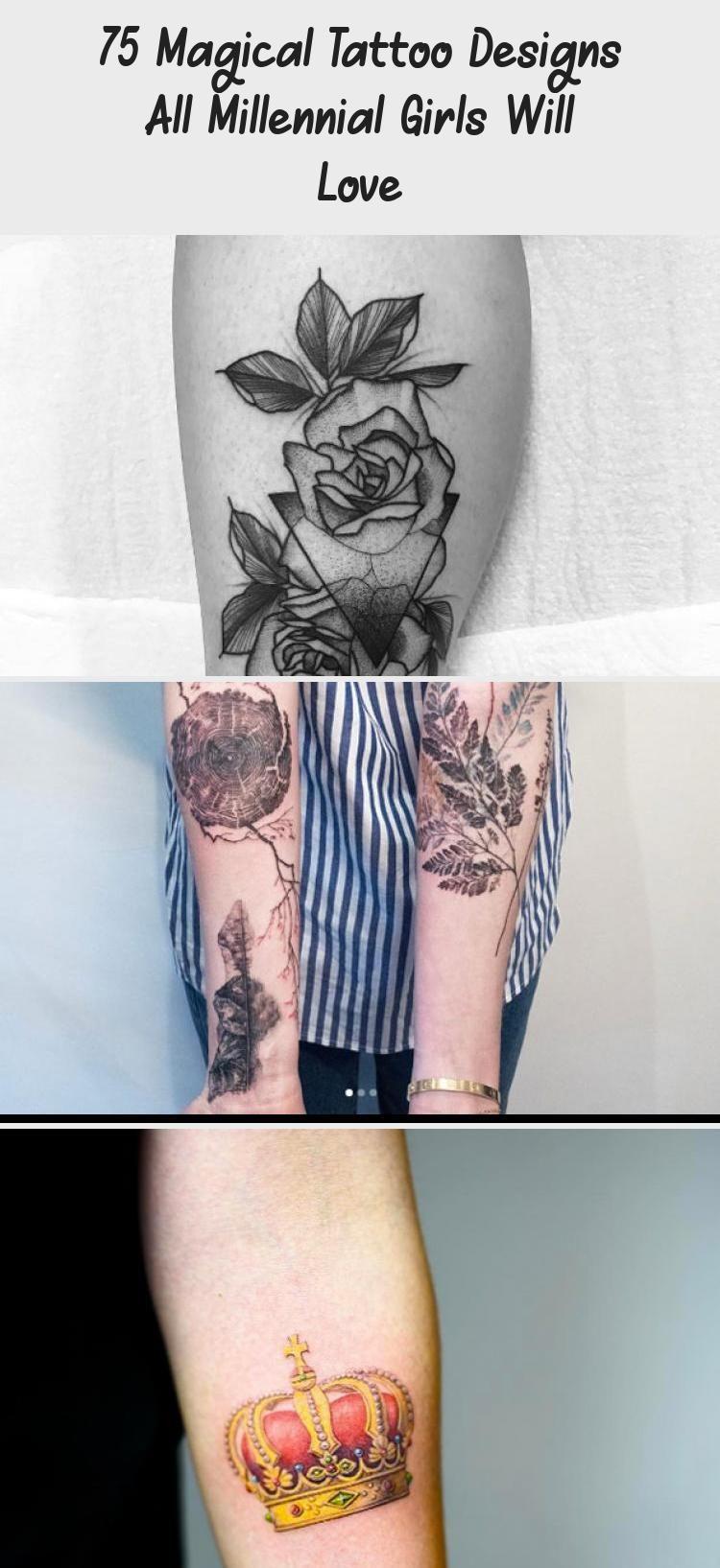 75 Magical Tattoo Designs All Millennial Girls Will Love - Tattoo Blog