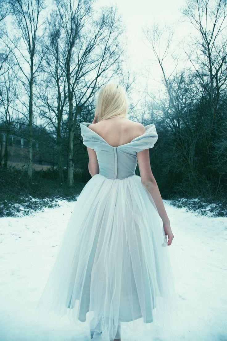 Winter wonderland wedding dress  Short and Tea Length Wedding Dresses  Beyond Burlesque  Wedding