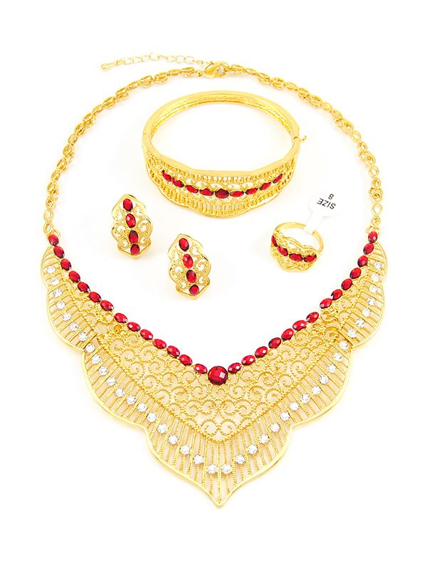 Gold plated fashion jewelry wholesale 81