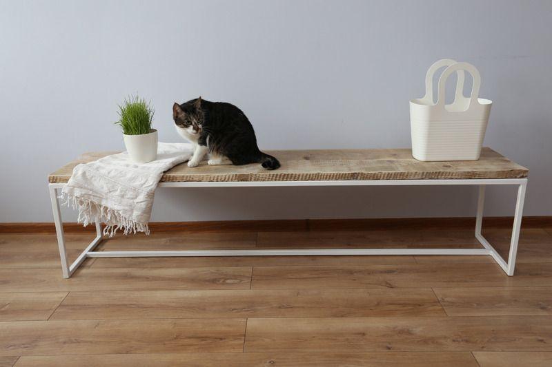 bank aus gebrauchtem bauholz gartenbank von woodenfactory. Black Bedroom Furniture Sets. Home Design Ideas