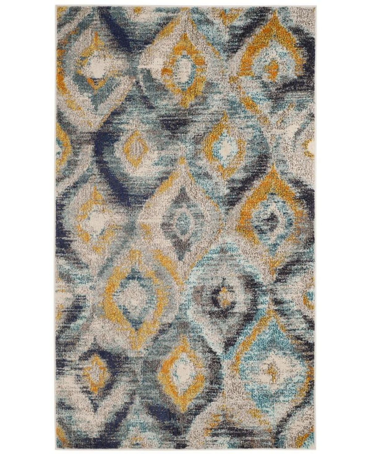 Photo of Safavieh Monaco Blue and Multi 3′ x 5′ Space Rug & Critiques – Rugs – Macy's