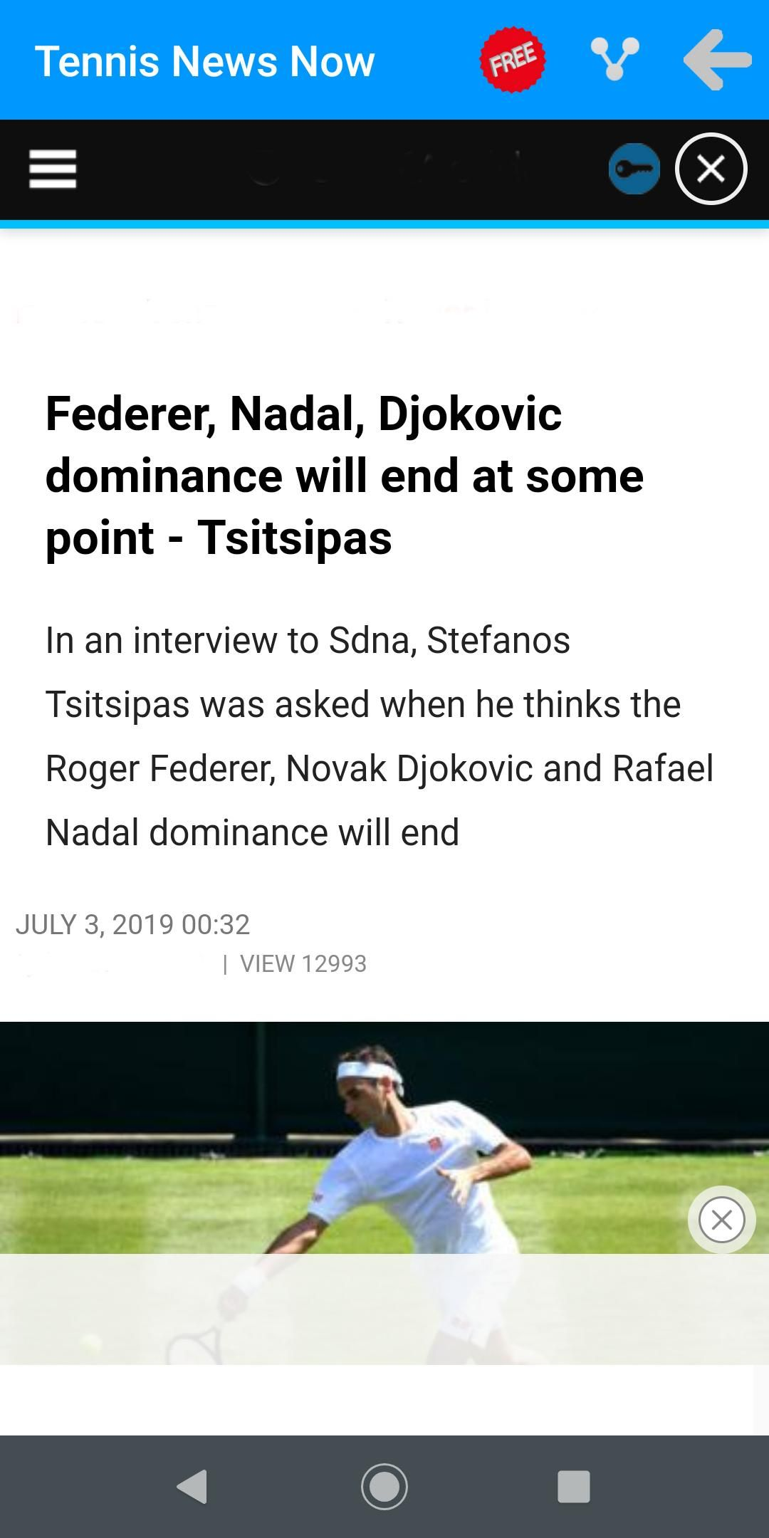 Tennis News Now For Android Apk Download In 2020 Tennis News Tennis News