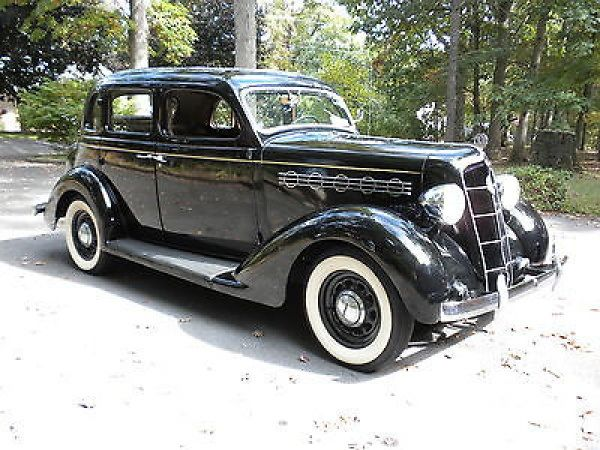Plymouth other deluxe 1935 35 plymouth deluxe six 4 door for 1935 plymouth 2 door sedan