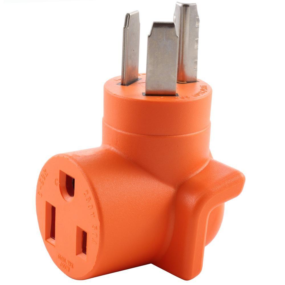 Ac Works Ac Connectors Nema 10 30 3 Prong Dryer Plug To 6 50