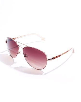 4d4ed277045 Michael Kors Karmen Aviator Sunglasses - love the color