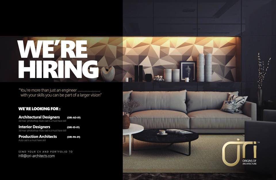 Ori-architects needs designers