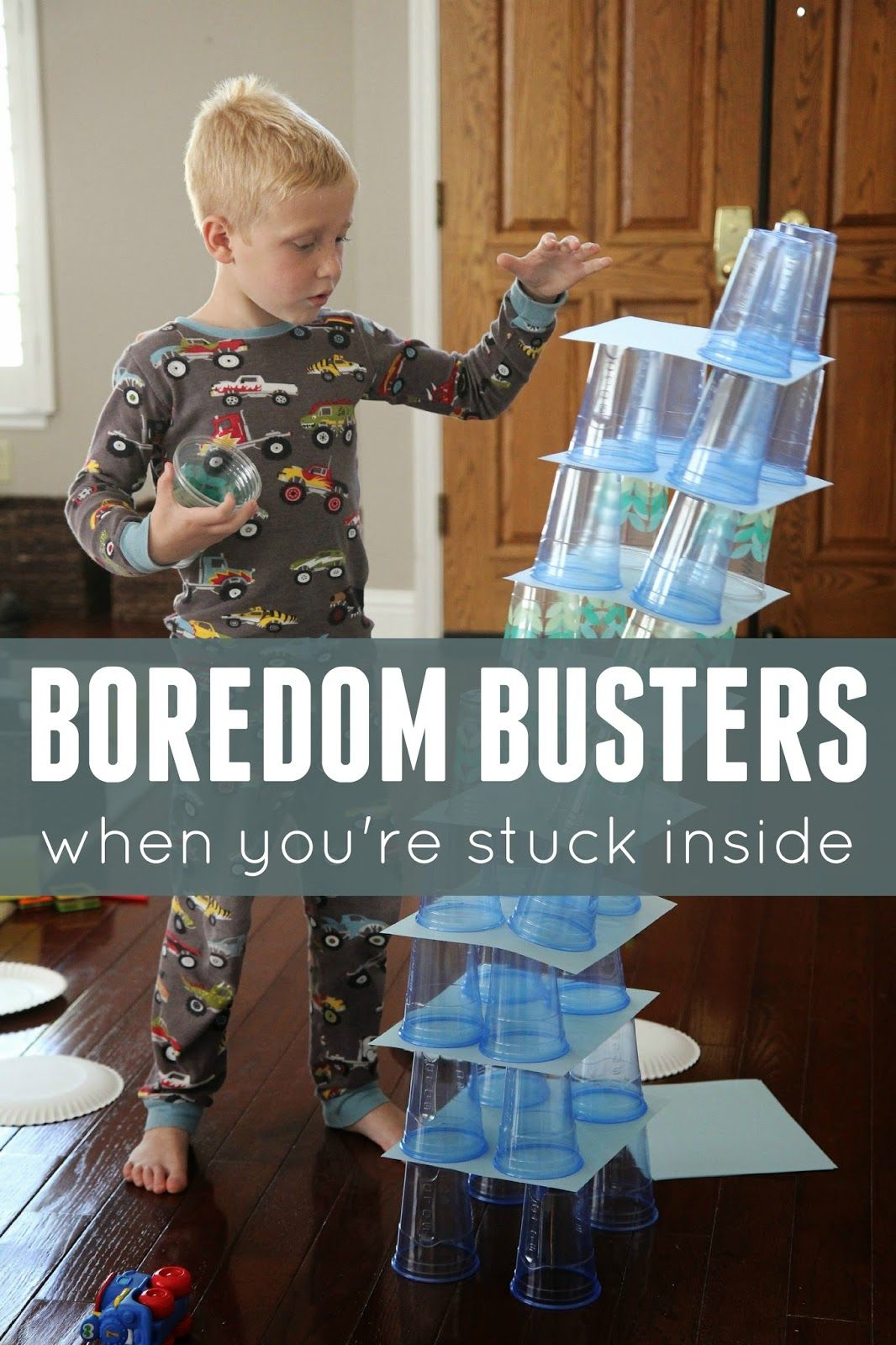 Boredom Buster Indoor Activities for Kids Fun indoor