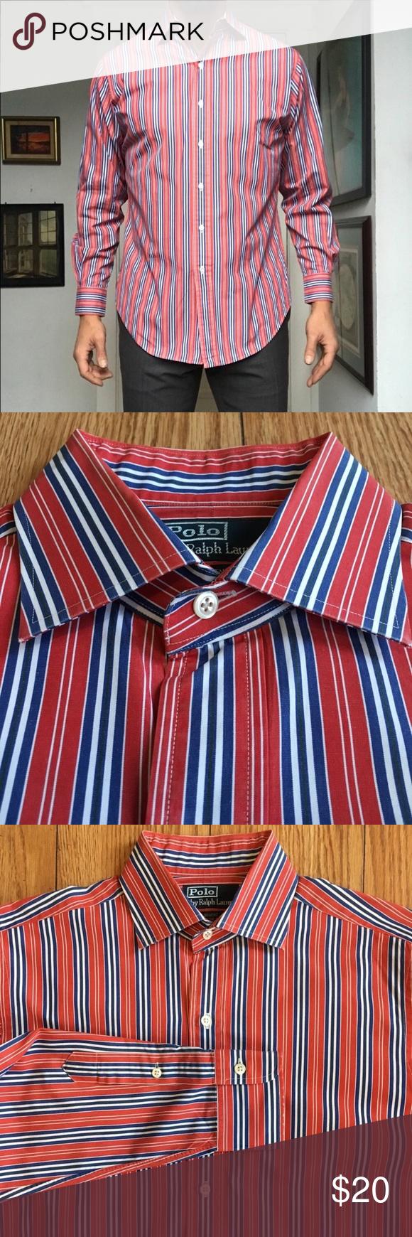 17b5d17616 Polo Ralph Lauren Regent Striped Dress Shirt Polo Ralph Lauren ...