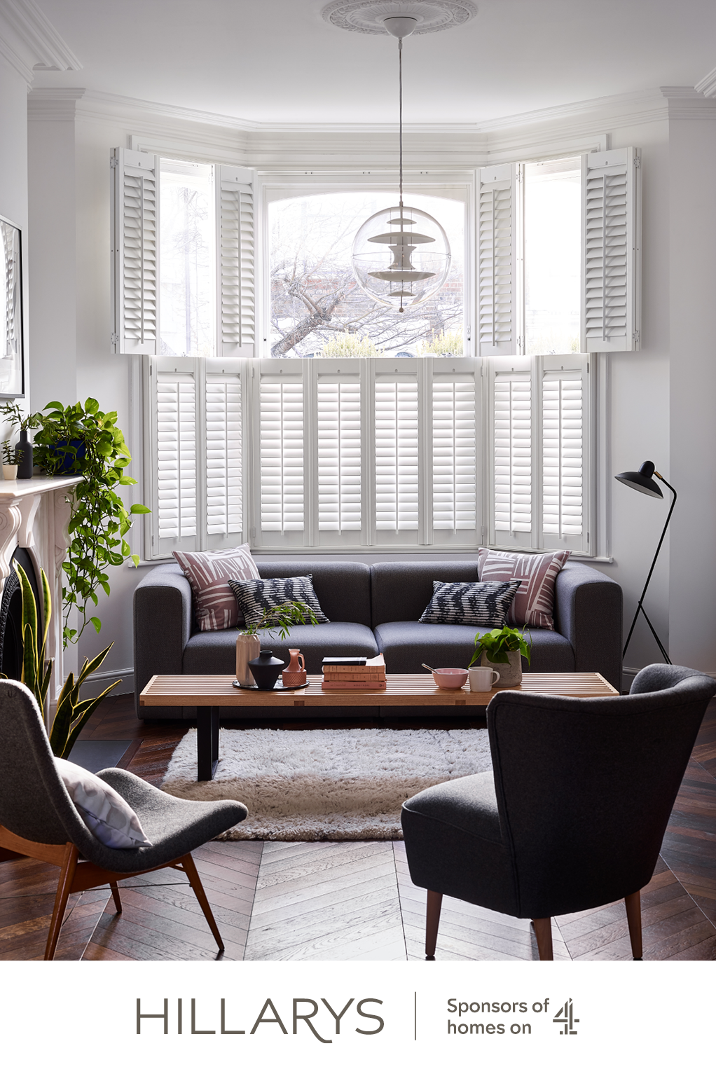 Of course classic white shutters will always be in vogue