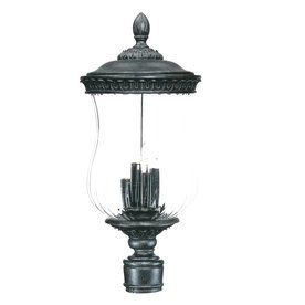 Lowes $278 Acclaim Lighting Bel Air 26-in H Stone Post Light