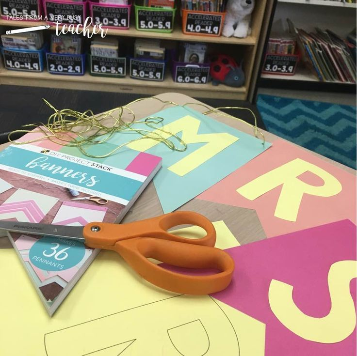 Create your own letters for your bulletin boards by