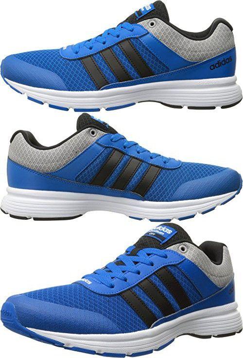Adidas NEO Men's Cloudfoam VS City Shoes,Blue/Black/White,14 M US ...