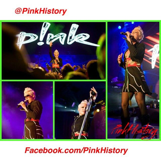 """""""On This Day in #PinkHistory 27th June 2007 Pink played in Gothenburg, Sweden, on the I'm Not Dead Tour #sweden #ind #indera #indtour #imnotdead…"""""""
