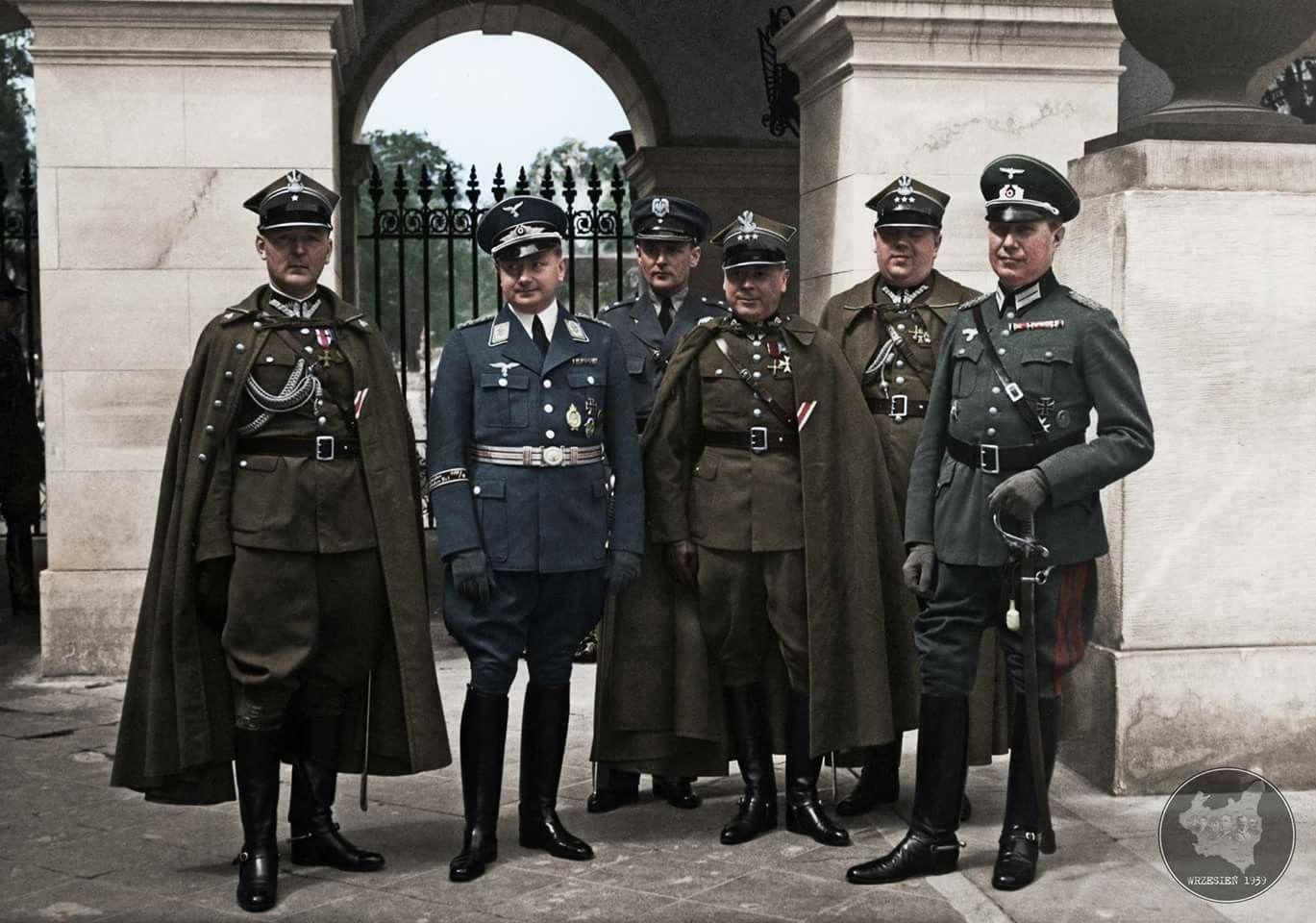 ppk von Gerstenberg w mundurze Luftwaffe wraz