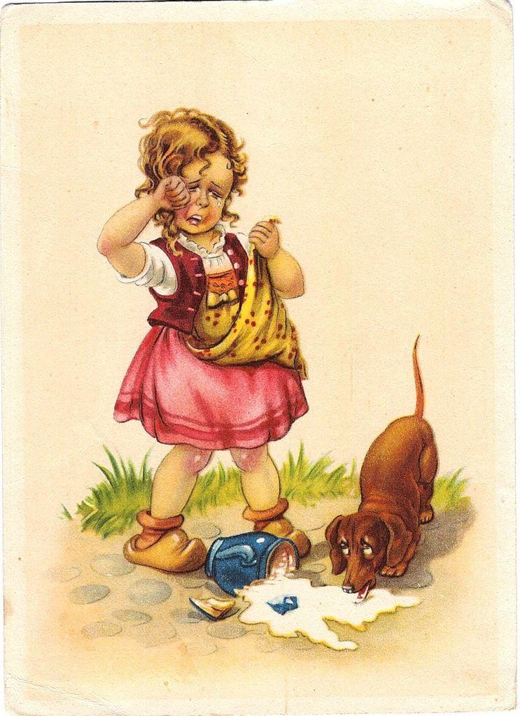 почтовые открытки с детьми этот поздравок только