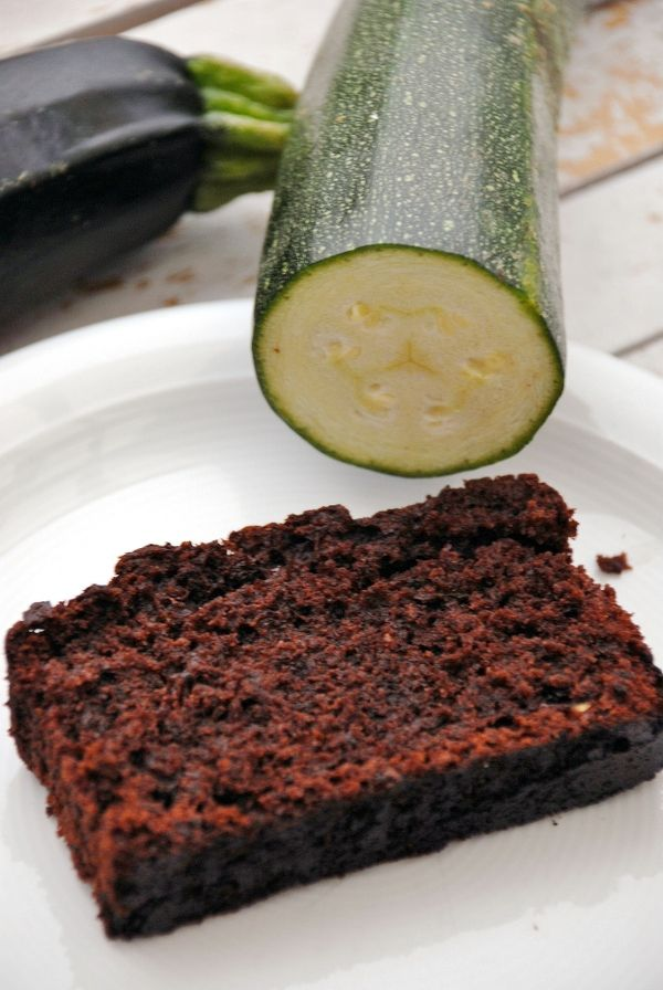 Zucchinkuchen Rezept Schokolade In Doppelter Portion Namlich
