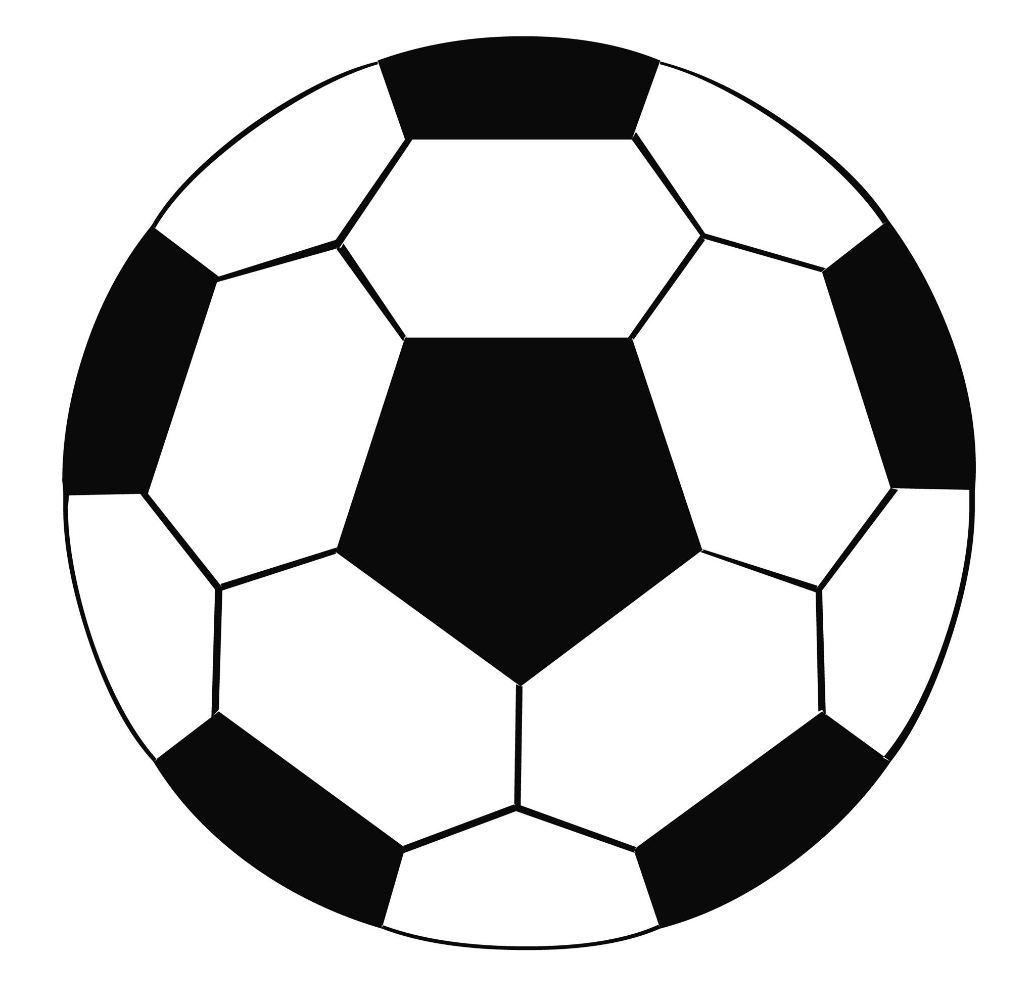 soccer ball clip art free large images pinteres rh pinterest com soccer ball clip art black and white soccer ball clip art black and white