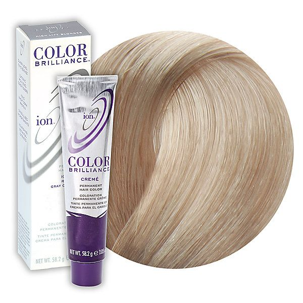 10a Lightest Ash Blonde Permanent Creme Hair Color Ion