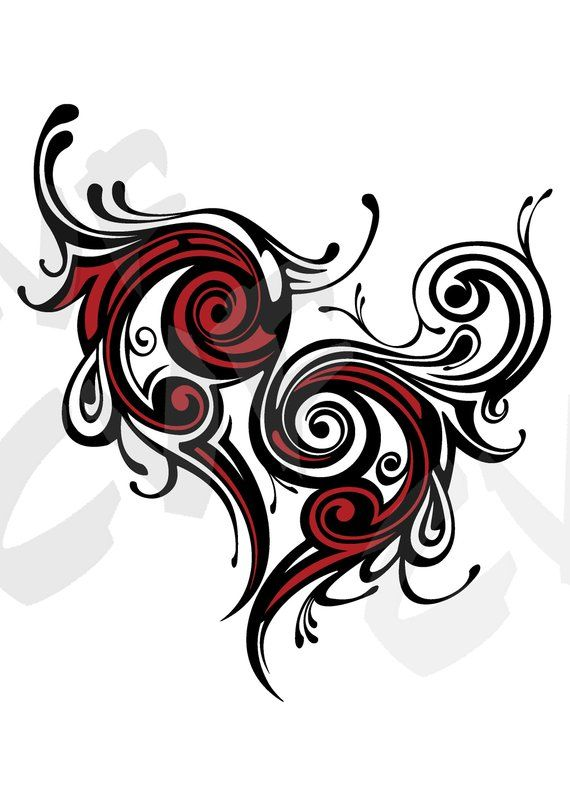 Vector Heart Love Ai Eps Png Pdf Svg Jpg Download Digital Image Graphical Image Discount C Tattoos Neck Tattoo Tribal Animal Tattoos