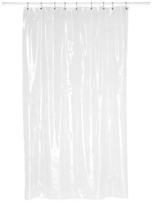 Advertisement Carnation Home Fashions Super Clear 10 Gauge Anti Mildew Stall Size Vinyl Shower Cool Shower Curtains Vinyl Shower Curtains Shower Curtain