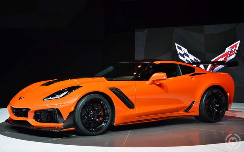 2019 Chevrolet Corvette Zr1 Convertible Presented As Lot S245 At