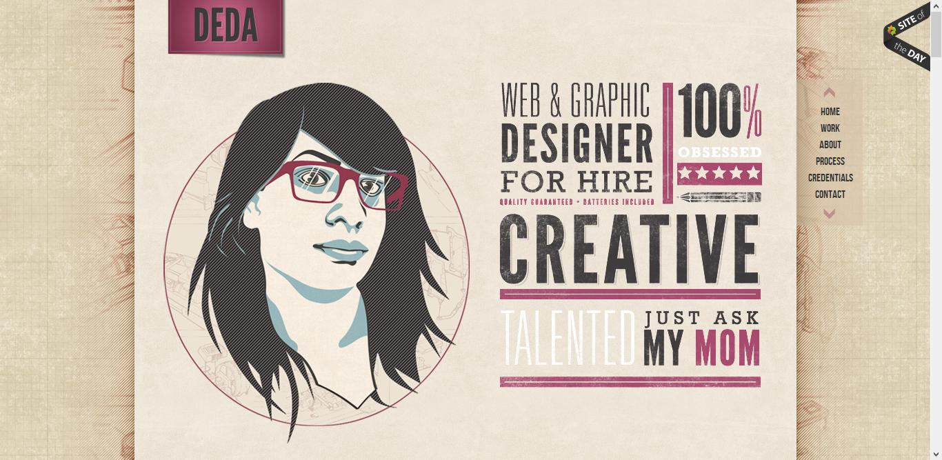 DEDA Portfolio inspiration | DTP | Pinterest
