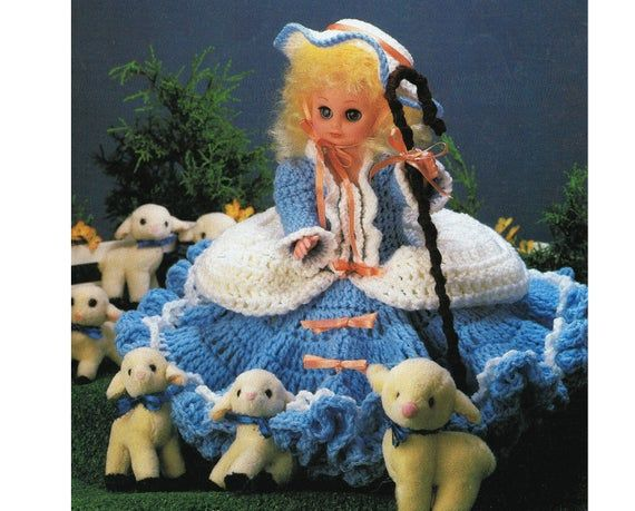Bed Doll Crochet Pattern - 13 Bed Doll - Simple Crochet Stitches - Home Decor PDF Crochet Pattern