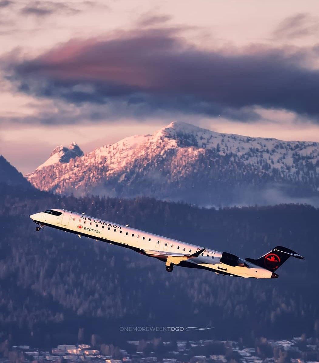 Air Canada beautiful capture (Dengan gambar)