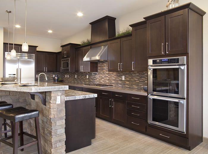 stone kitchen backsplash dark cabinets. Perfect Dark A Kitchen Remodel That Can Make Any Home Look Amazing To Stone Kitchen Backsplash Dark Cabinets T