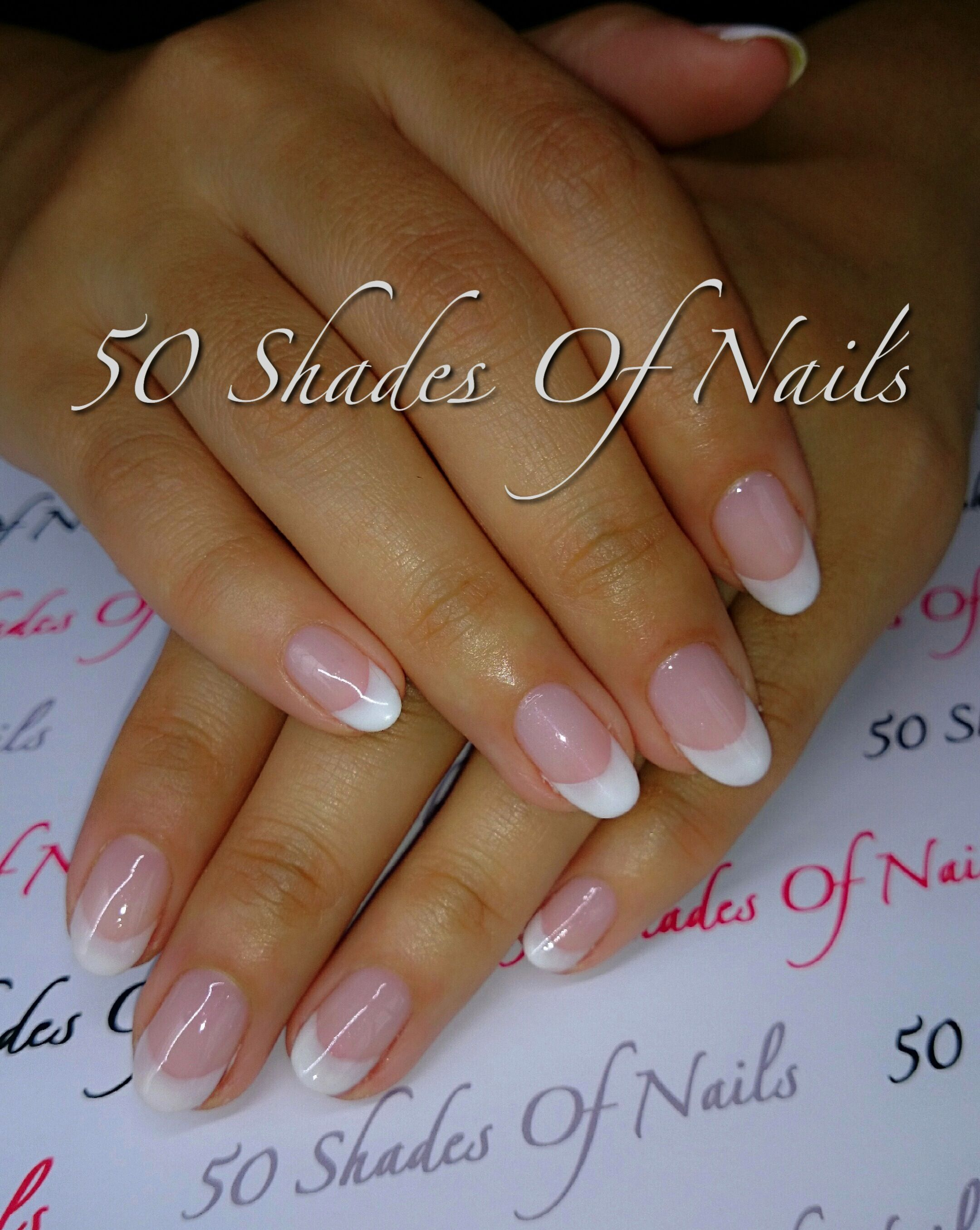 Bio Sculpture Gel | French | white tip | natural nails | nails ...